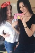 Escort girl Julie and Linda lesbia (Doha)