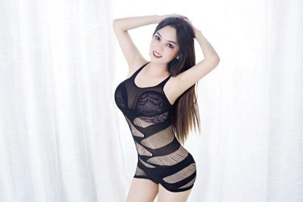 Asian prostitute on Sexdoha.club with sexy photos